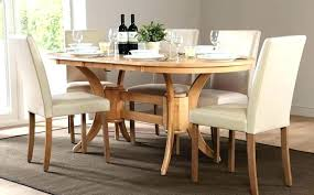 Oval Dining Table For 6 Room Set Great Sets