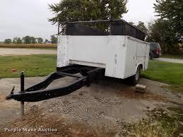 knapheide utility bed trailer item dp9960 sold october