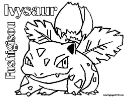 Pokemon Coloring Pages Free Printable At