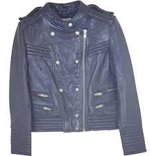 black leather iro jacket vestiaire collective