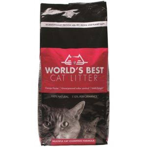 World's Best Cat Litter Multiple Cat Clumping Formula - 6.35kg