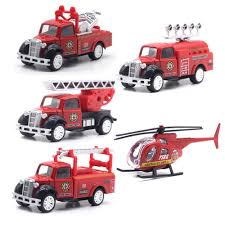 100 Model Fire Trucks Amazoncom MinYn Engine Rescue Truck Toy Set 155 DieCast