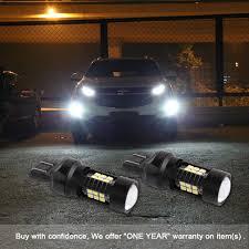 100 Wholesale Truck Accessories 1200Lm T20 W21W LED WY21W W215W 7440 7443 SRCK LED Bulbs T25 3157
