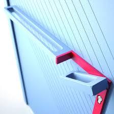 poignee pour porte d entree barre de tirage pour porte d entrée à poignée intégrée ekyss
