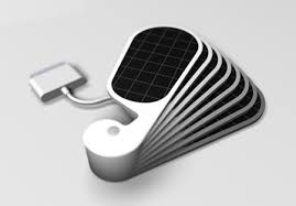 iPetals Solar Charger for Your iPhone Tuvie
