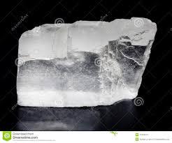 le de cristal de sel cristal de sel photo stock image du objet transparent 13349412