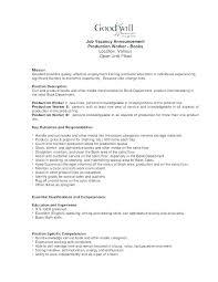 Assembler Resume Examples Assembly Sample Medical Inspirational Manufacturing