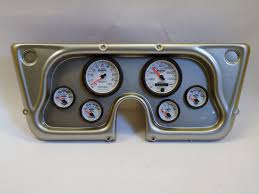 67 - 72 Chevy Truck Dash Panel W/ Phantom II Gauges | 130-67-