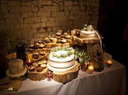 Rustic Cake Table Decorations