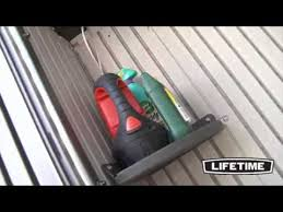 Rubbermaid Roughneck Shed Assembly by Features Of A Lifetime 7ft X 7ft Plastic Shed Youtube