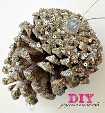 Pine Cone Christmas Tree Tutorial by Livelovediy Diy Christmas Ornaments Ideas