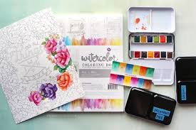 Super Cool Watercolor Coloring Book New Pan Sets From Prima Review