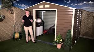 Shed Anchor Kit Instructions by Billyoh Evan Metal Shed Including Foundation Kit Youtube