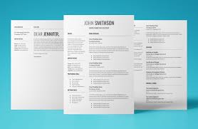 Cover Letter Resume CV Template Download Use Today 2019
