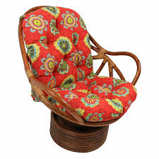 Bay Isle Home Swivel Indoor/Outdoor Rocking Chair Cushion ...