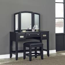 Makeup Vanity Table With Lights And Mirror by Makeup Vanities Bedroom Furniture The Home Depot