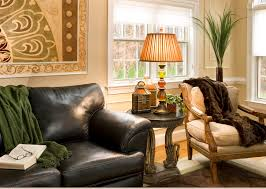 Black Leather Sofa Decorating Ideas by Apartment Fetching Living Room Decorating Ideas With Brown