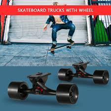 100 Parts Of A Skateboard Truck 2PCS Universal Enduring Magnesium Lloy