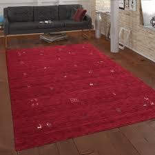 ethno teppich wohnzimmer wolle handgewebt gabbeh