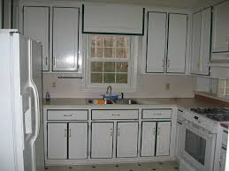 Renovate Your Small Home Design With Fabulous Vintage Painting Kitchen Cabinets Brown And Become Amazing
