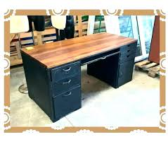 bureau en m al bureau bois metal botexchange co