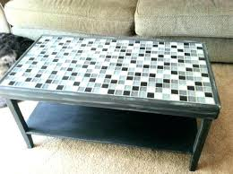 mosaic tile coffee table fabulous mosaic coffee table outdoor