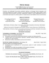 Black And White Entry Level Resume Template