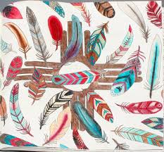 Johanna Basford Enchanted Forest Coloring Feathers