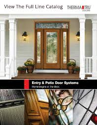 Therma Tru Patio Doors by Therma Tru Doors Great Northern