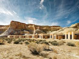 100 Aman Resorts Utah This Resort And Spa Perfectly Blended In Majestic Cliffs And