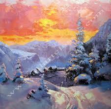 Original Artwork Winter Landscape