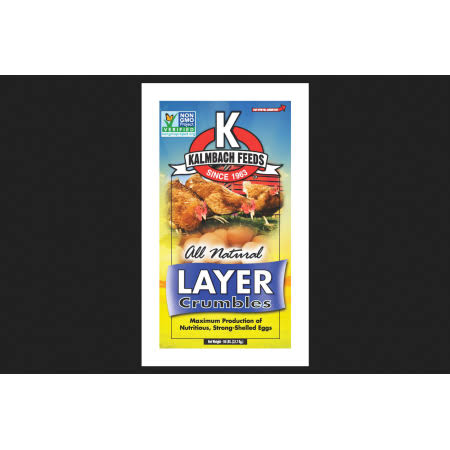 Kalmbach Feeds Layer Crumbles Chicken Feed - 50lbs
