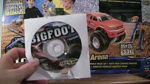 100 Bigfoot Monster Truck Toys BIGFOOT Ragin Arena Fast Lane RC Toy Review Video