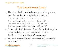 Java Mathceil Return Integer by Chapter 9 Primitive Types Java Programming From The Beginning