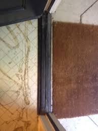 laminate floor at front door threshold doityourself