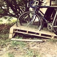 Palletcraft Bike Rack Made With Free Pallets