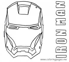Funny Avengers Iron Man Coloring Pages 2