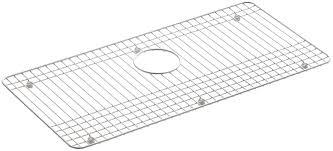 Sink Grid Stainless Steel by Kohler Dickinson Stainless Steel Sink Rack 27 1 2