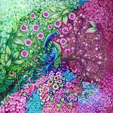 Johanna Basford Coloring Collection SG EF LO SGG9 ColouringColoring BooksAdult ColoringSecret GardensPeacocksCherryJohanna