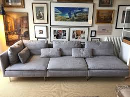 ikea söderhamn light grey long sofa in highgate london gumtree