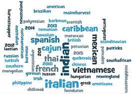 list of international cuisines global cuisine since 2010 st margaret s episcopal church