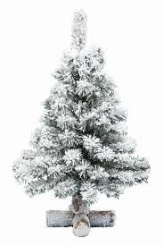 Tabletop Fibre Optic Christmas Tree by Kaemingk 60cm Snowy Toronto Table Top Artificial Christmas Tree