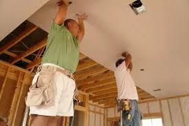 Hanging Drywall On Ceiling by How To Hang A Drywall On A Ceiling Updated Quora