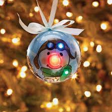 Lighted Aviator Snowman LED Christmas Ornament Christmas All