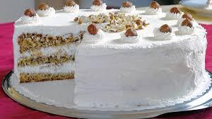 rezept für nuss sahne torte