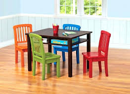 Ebay Dining Table And Chairs Kids Rectangle Game Chocolate Finish Bf Ab A