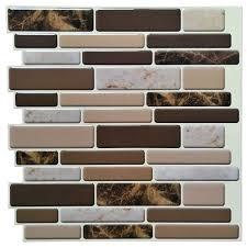 kitchen backsplash peel and stick vinyl tile backsplash metal