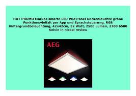 best buy markos smarte led wiz panel deckenleuchte gro e