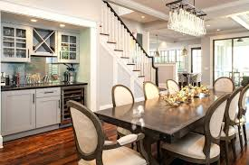 Craftsman Dining Room With Built In Bar Decor Decorations For Party