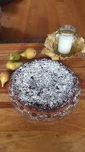 schokostreuselkuchen mit birnen